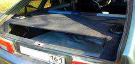Задняя полка в автомобиль своими руками