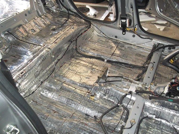 Как сделать шумо-виброизоляцию автомобиля?