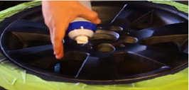 Способ покраски литых дисков жидкой резиной