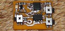 Мигающий стоп-сигнал, схема