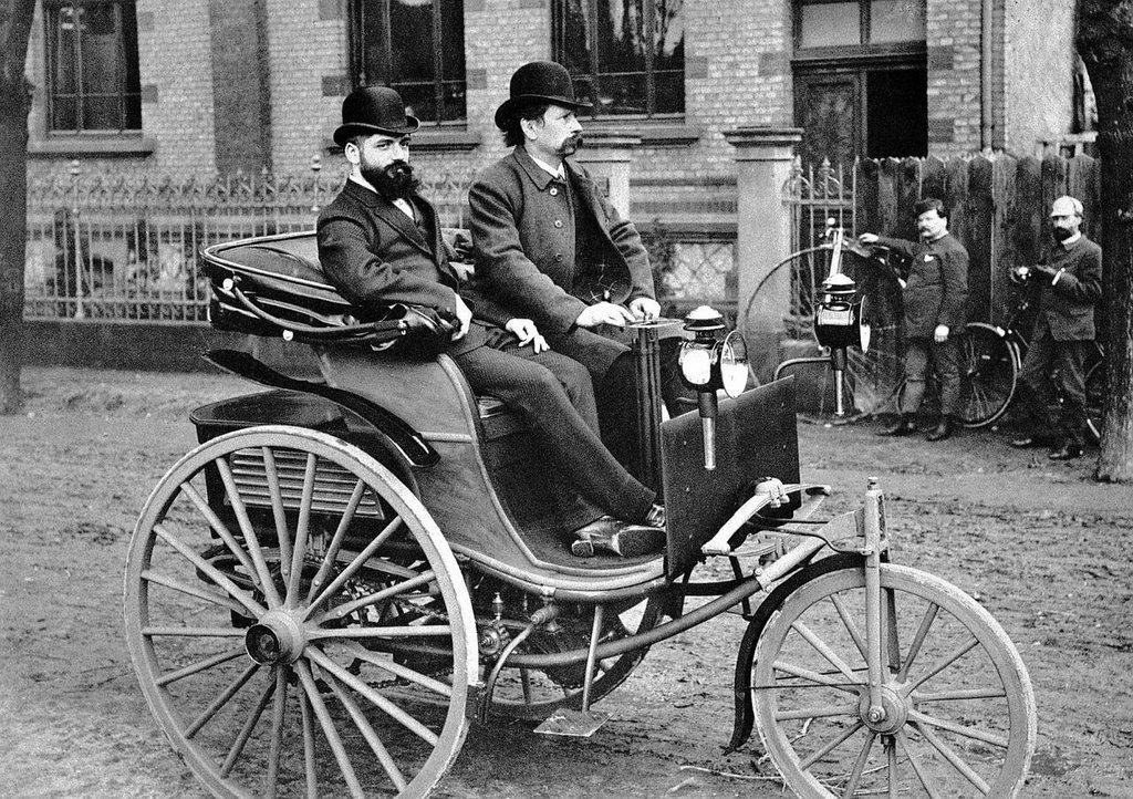 История автомобиля.