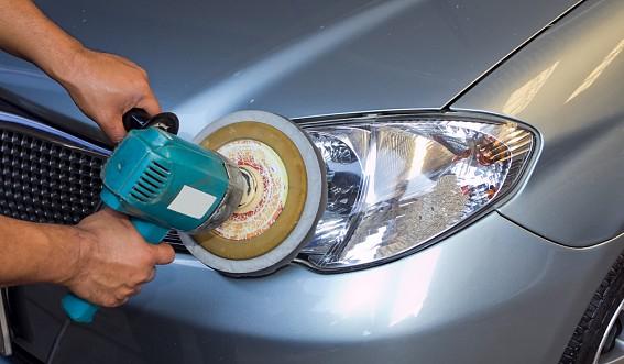 Как полировать фары автомобиля