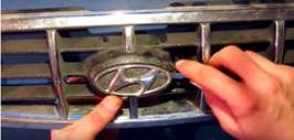 Подсветка логотипа hyundai