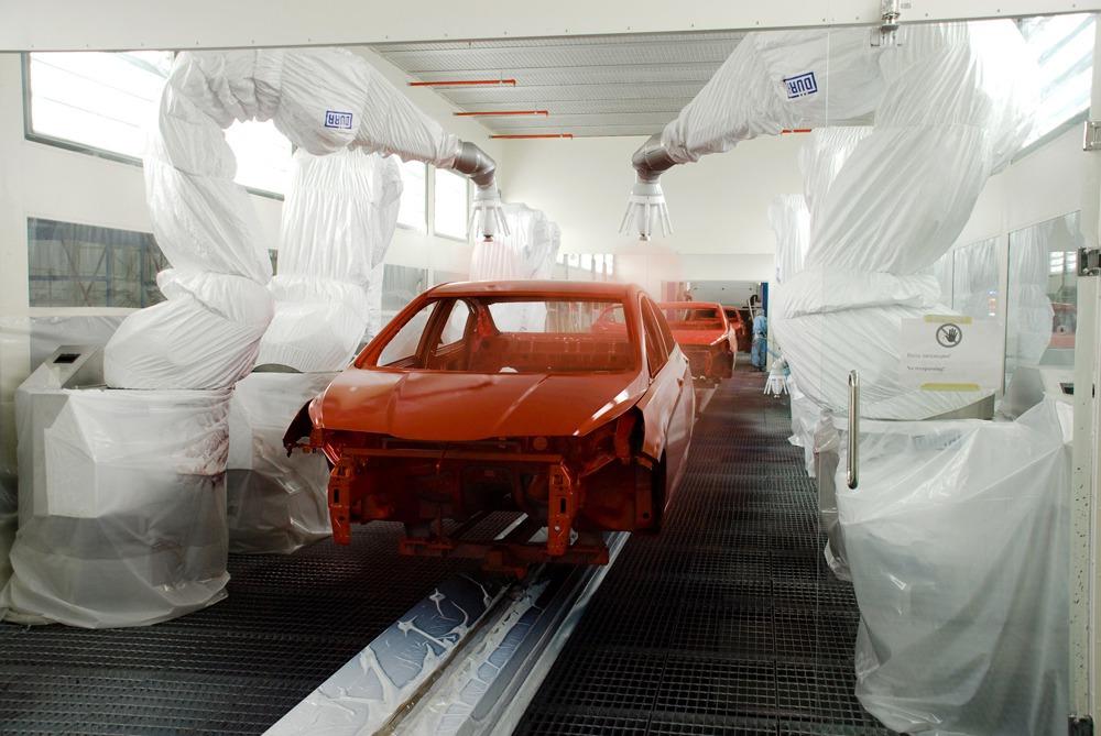 Заводская покраска авто. Как это происходит?