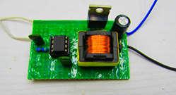 Преобразователь для зарядки конденсаторов