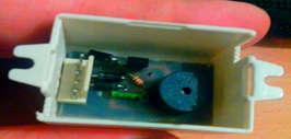 Схема сигнализатора не выключенных габаритов на транзисторах