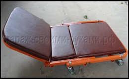 Лежак подкатной для ремонта авто своими руками