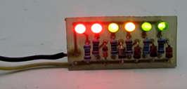 Индикатор АКБ на светодиодах схема для начинающих