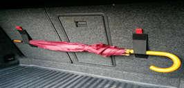 Простое крепление для вещей в багажнике