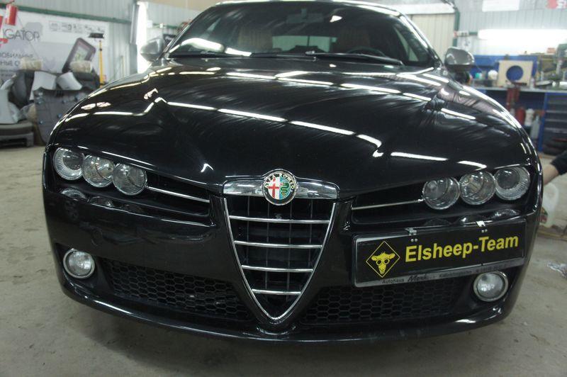Alfa Romeo 159. Как собрать простую аудиосистему с хитростями.