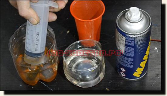1 часть масла -- 10 мг или 1 кубик