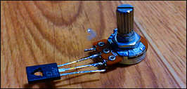 Простой регулятор напряжения для светодиодов или ДХО