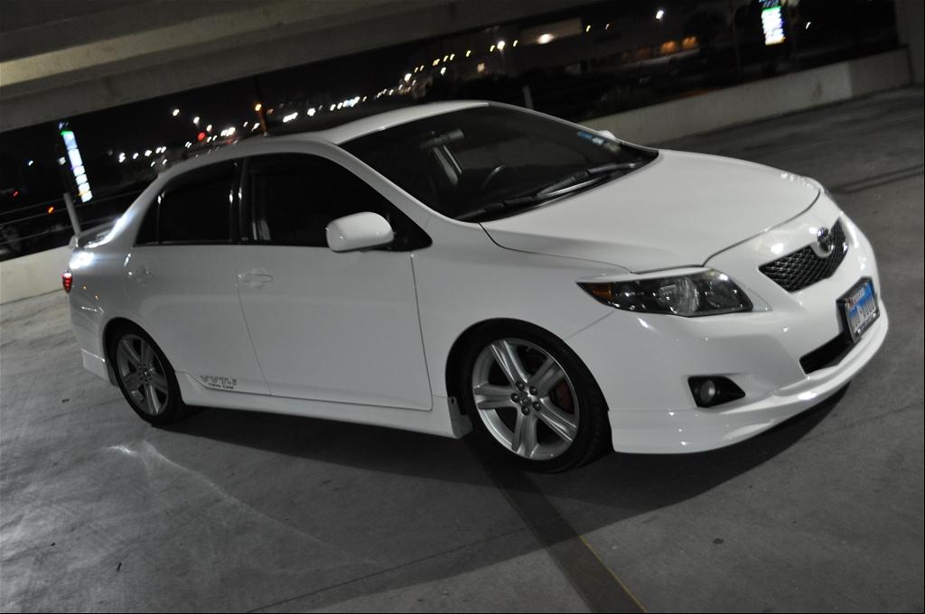 Шумовиброизоляция Toyota Corolla. Из материала ComfortMat