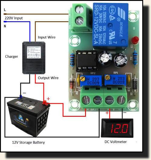 Контроллер для зарядки