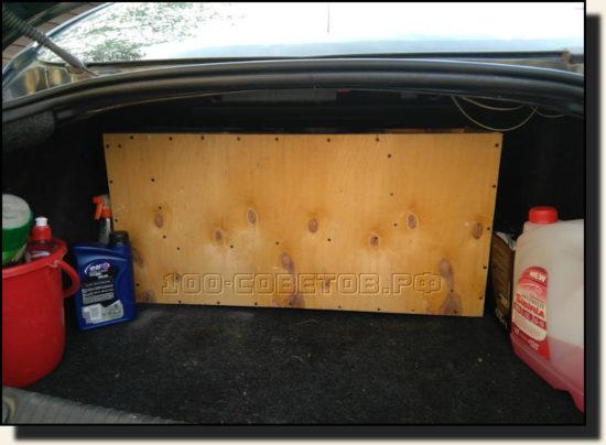 короб в багажнике