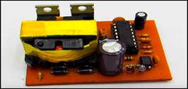 Простой инвертор 12-220 до 400 ватт, схема