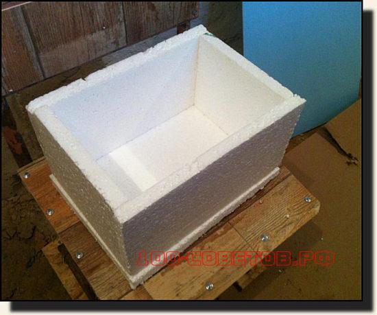 Измерив размеры контейнера