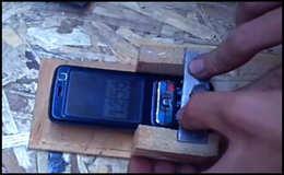 Сотовая сигнализация для гаража из кнопочного мобильника