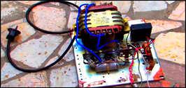 Зарядное устройство из советских деталей для АКБ
