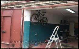 Крепление подвеса для велосипеда в гараж своими руками