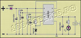 Делаем схему контроля зарядки аккумулятора для авто