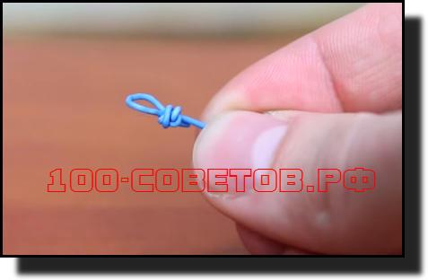 верёвки и фиксируем