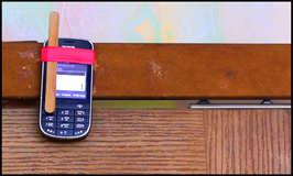 Сигнализация из сотового телефона, простая идея