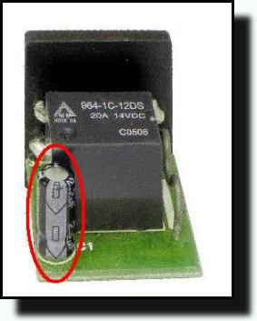 меняем конденсатор в реле