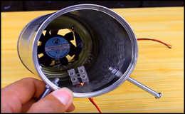 Простой электрический обогреватель в автомобиль своими руками