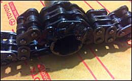 Съёмник для масляного фильтра из цепи