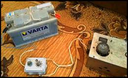 Приставка к зарядному или как восстановить аккумулятор