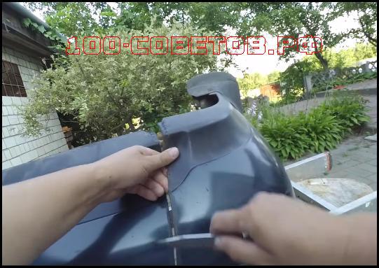 Как отремонтировать бампер