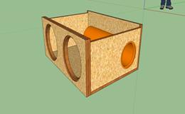 Какой материал использовать для изготовления короба сабвуфера.