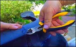Как отремонтировать трещину бампера авто (подробно)