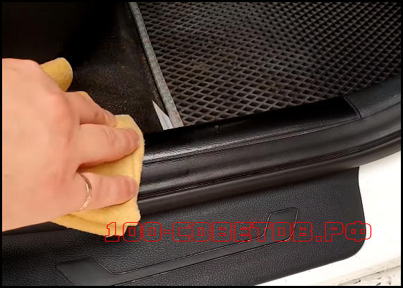 Как защитить пластик салона автомобиля