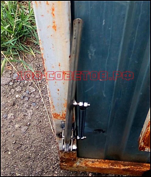 Удобные и простые фиксаторы для ворот