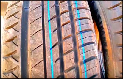 Зачем нужны цветные полоски и метки на шинах.