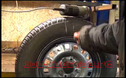 Как сделать балансировку колеса в гаражных условиях.