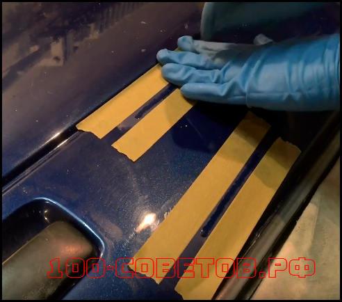 Как убрать глубокую царапину на авто, пошаговая инструкция