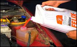 Как промыть и поменять охлаждающую жидкость в авто
