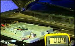 Как измерить ток утечки аккумулятора