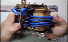 Точечная сварка из простого трансформатора
