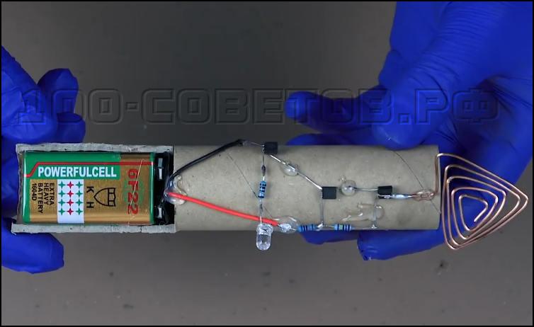 Простой детектор напряжения своими руками
