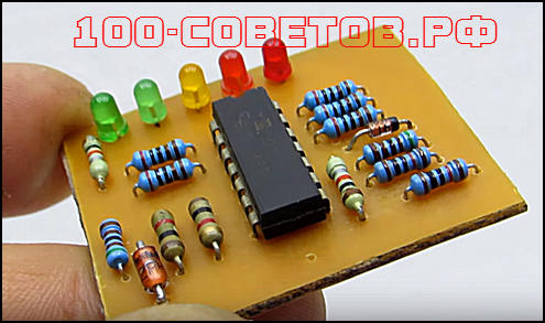 Простой и точный индикатор заряда-разряда АКБ