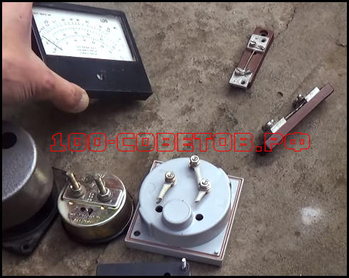 Схема трансформаторного зарядного устройства