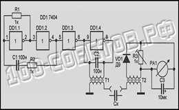 Измеритель ESR с трансформаторной развязкой