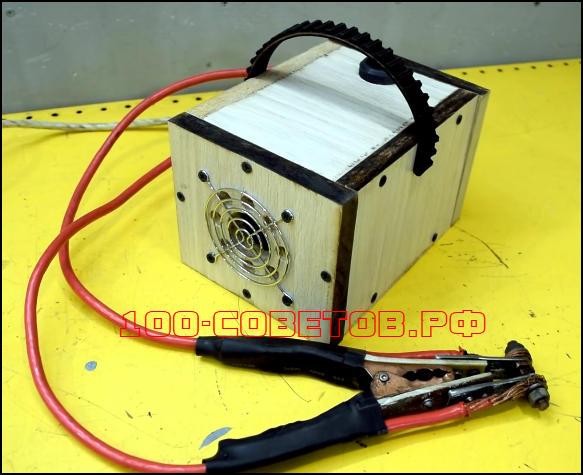 Отличная самоделка из трансформатора от микроволновки для авто