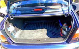 Простое крепление для предметов в багажнике
