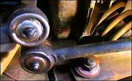 Диагностика рулевых тяг и наконечников автомобиля ВАЗ