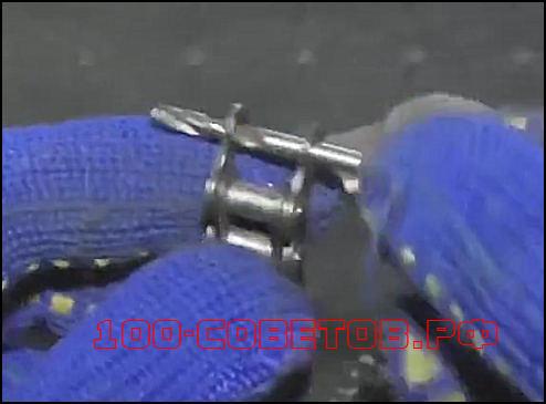 Простой, цепной ключ для гаража своими руками.